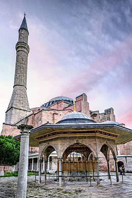 Priska Wettstein Land Shapes Series - Istanbul Cathedral by Maria Coulson