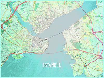 Digital Art - Istanbul by Gary Grayson