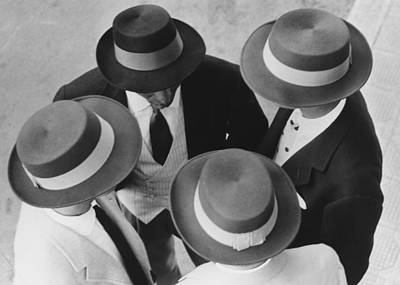 Photograph - Italian Hats by Hulton Collection