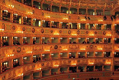 Balcony Photograph - Italy, Veneto, Venice, Listed As World by Frumm John / Hemis.fr