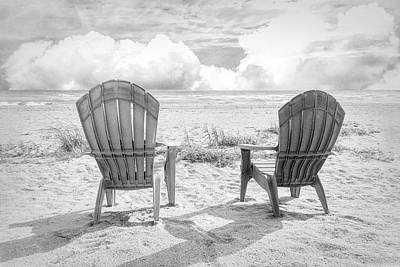 Photograph - It's A Beautiful Morning In Black And White by Debra and Dave Vanderlaan