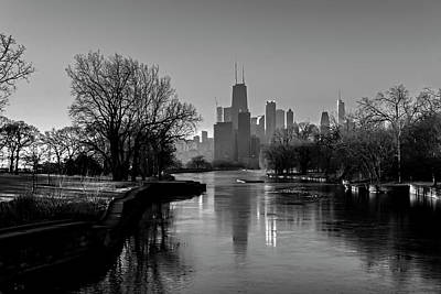 Photograph - It's A Frosty Morning In Chicago's Lincoln Park  by Sven Brogren