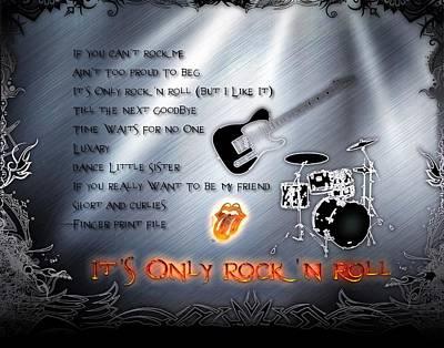 Digital Art - It's Only Rock 'n Roll by Michael Damiani