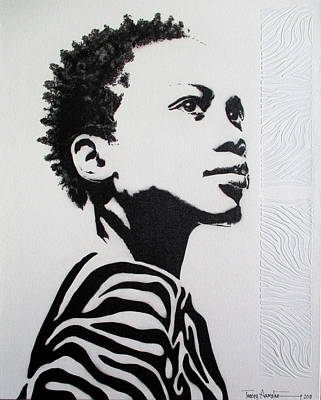 Painting - I've Earned My Stripes by Tracey Armstrong