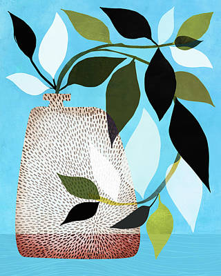 Kristian Gallagher Royalty-Free and Rights-Managed Images - Ivy and Blue Sky by Kristian Gallagher