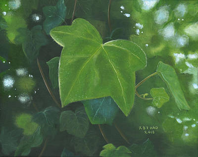 Painting - Ivy Waltz by Helian Osher