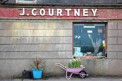 Photograph - J Courtney In Ireland  by John McGraw
