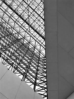 Photograph - J F K Skylight 13 by Rob Hans
