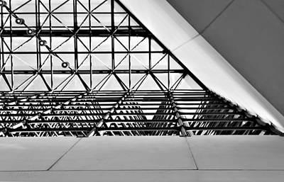 Photograph - J F K Skylight 14 by Rob Hans