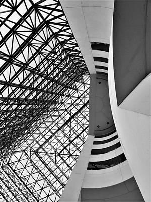 Photograph - J F K Skylight 2 by Rob Hans