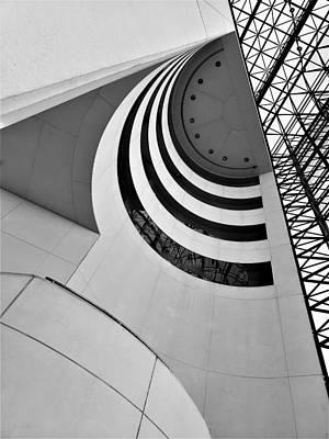 Photograph - J F K Skylight 5 by Rob Hans