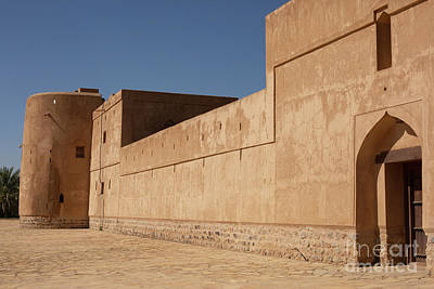 Beer Blueprints - Jabrin fort, Oman by Patricia Hofmeester
