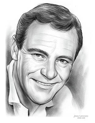 Drawings Rights Managed Images - Jack Lemmon Royalty-Free Image by Greg Joens