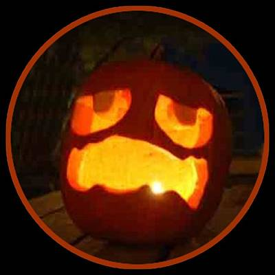 Digital Art - Jack O Lantern 2018 by Walter Chamberlain