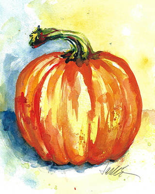 Painting - Jack-o-lillie by Jacki Kellum