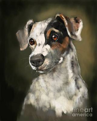 Painting - Jack Russell Terrier by Lora Serra