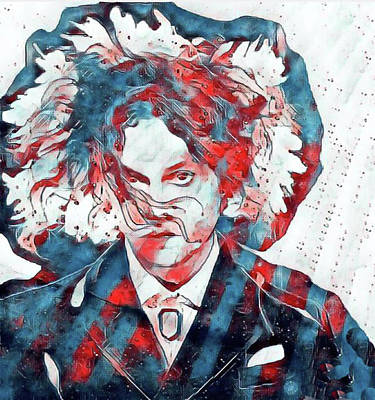 Digital Art - Jack White / Say No by Jayime Jean