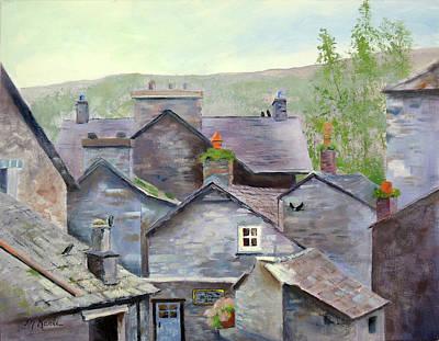 Painting - Jackdaw Inn by Marsha Karle