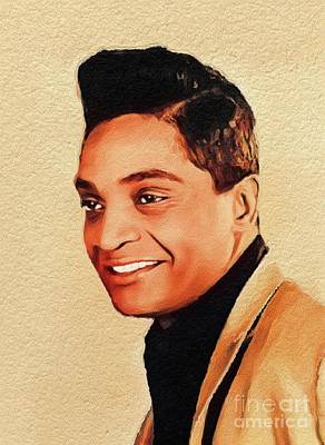 Music Royalty-Free and Rights-Managed Images - Jackie Wilson, Music Legend by John Springfield