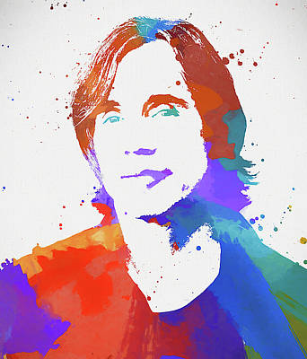 Painting - Jackson Browne by Dan Sproul