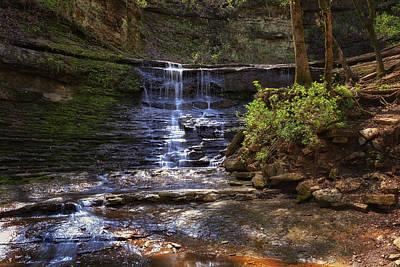 Photograph - Jackson Falls - Natchez Trace by Susan Rissi Tregoning