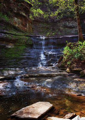 Photograph - Jackson Falls by Susan Rissi Tregoning