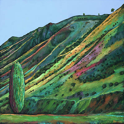Teton Painting - Jackson Hole by Johnathan Harris
