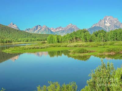 Photograph - Jackson Lake At Grand Teton Np by Benny Marty
