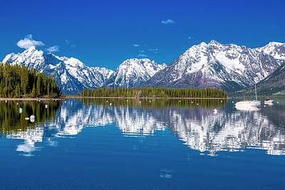 Photograph - Jackson Lake by Joe Paul