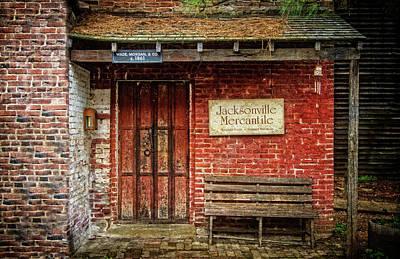 Photograph - Jacksonville Mercantile  by Thom Zehrfeld