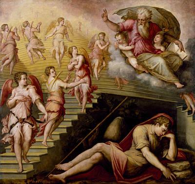 Painting - Jacob's Dream by Giorgio Vasari II