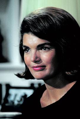 Photograph - Jacqueline Kennedy In Photo Session by George Silk