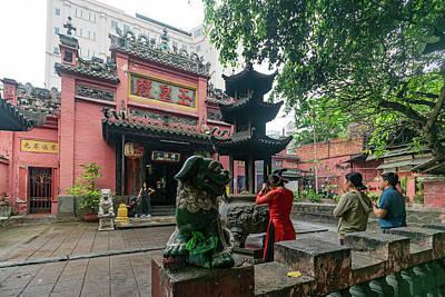 Wall Art - Photograph - Jade Emperor Temple  by Steven Richman