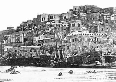 Photograph - Jaffa 1886 by Munir Alawi