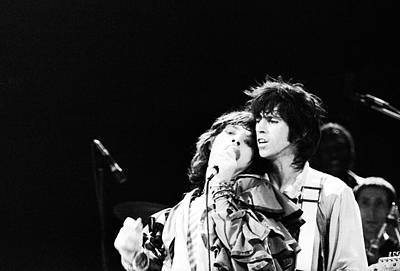 Photograph - Jagger And Richards by John Minihan