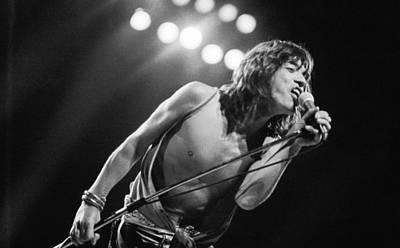 Photograph - Jagger At Knebworth by Graham Wood