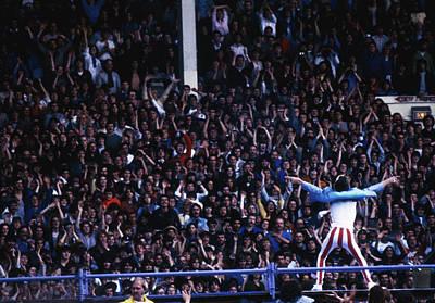 Photograph - Jagger At Wembley by Keystone
