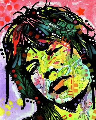 Painting - Jagger by Dean Russo Art
