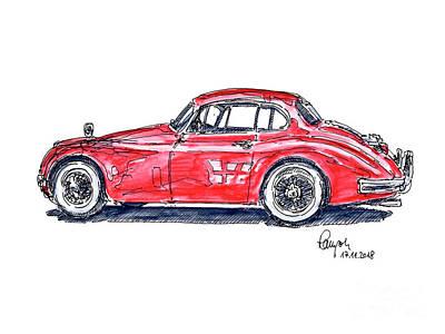 Car Sketch Drawings Page 5 Of 7 Fine Art America