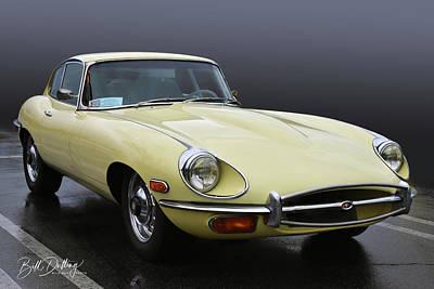Photograph - Jaguar Xke by Bill Dutting