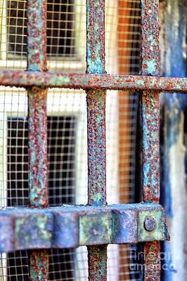 Photograph - Jail Bars Charleston by John Rizzuto