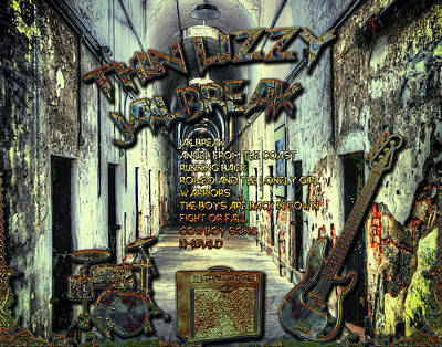 Digital Art - Jailbreak by Michael Damiani