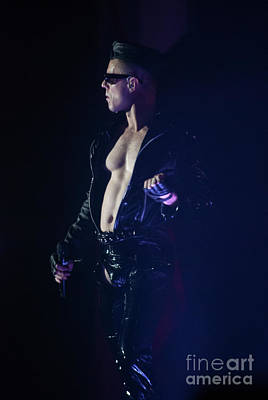 Photograph - Jake Shears Scissor Sisters by Phill Potter