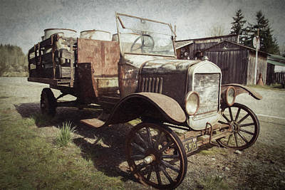 Photograph - Jalopy by Jean Noren