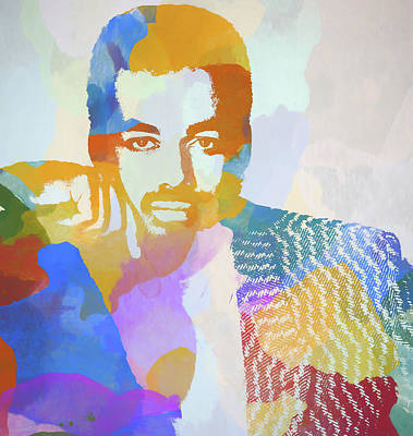 Painting - James Ingram by Dan Sproul
