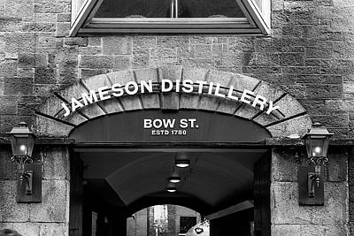 Photograph - Jameson Distillery Entrance by Georgia Fowler