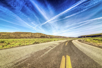 Photograph - Jameson Lake Road by Spencer McDonald