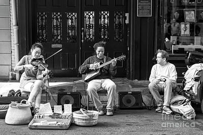 Photograph - Jamming In The Streets New Orleans Infrared by John Rizzuto