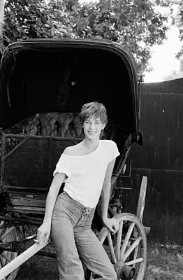 Photograph - Jane Birkin by Giancarlo Botti