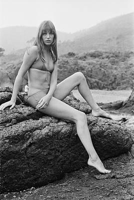 Photograph - Jane Birkin by Victor Blackman